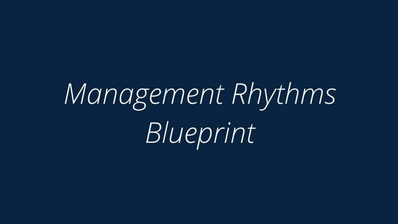 Purchase the management rhythms blueprint when you complete your purchase you will get immediate access to malvernweather Choice Image