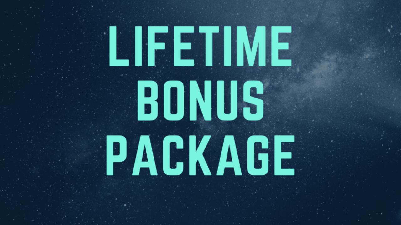 Yf5lxionqimjqwllzl3b lifetime bonus package