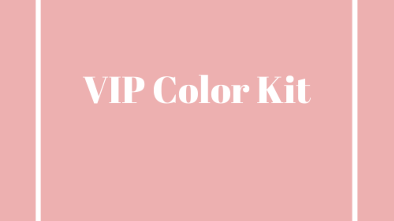 Ks9tnelqdq7twnbkbymx vip color kit