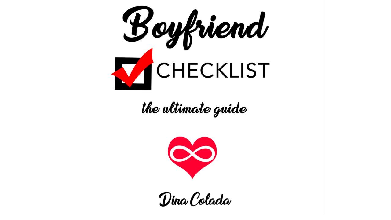 Jghgzbfqyytpbjgsvdfq the boyfriend checklist to manifest a partner