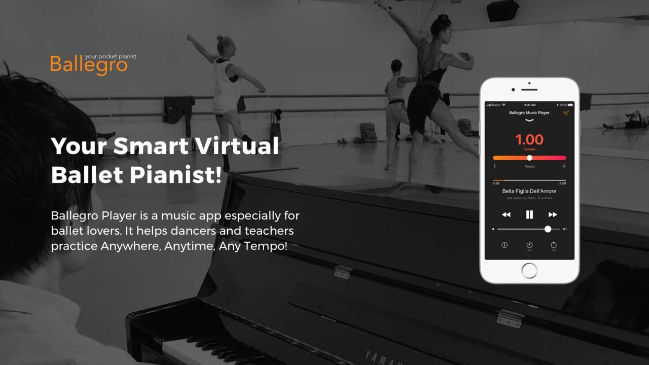 Ballegro - Your Virtual Ballet Pianist