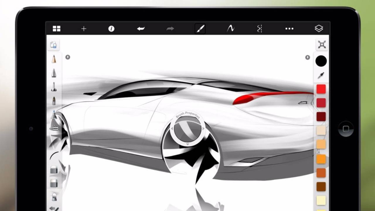Learn to draw on iPad and tablets using Autodesk Sketchbook
