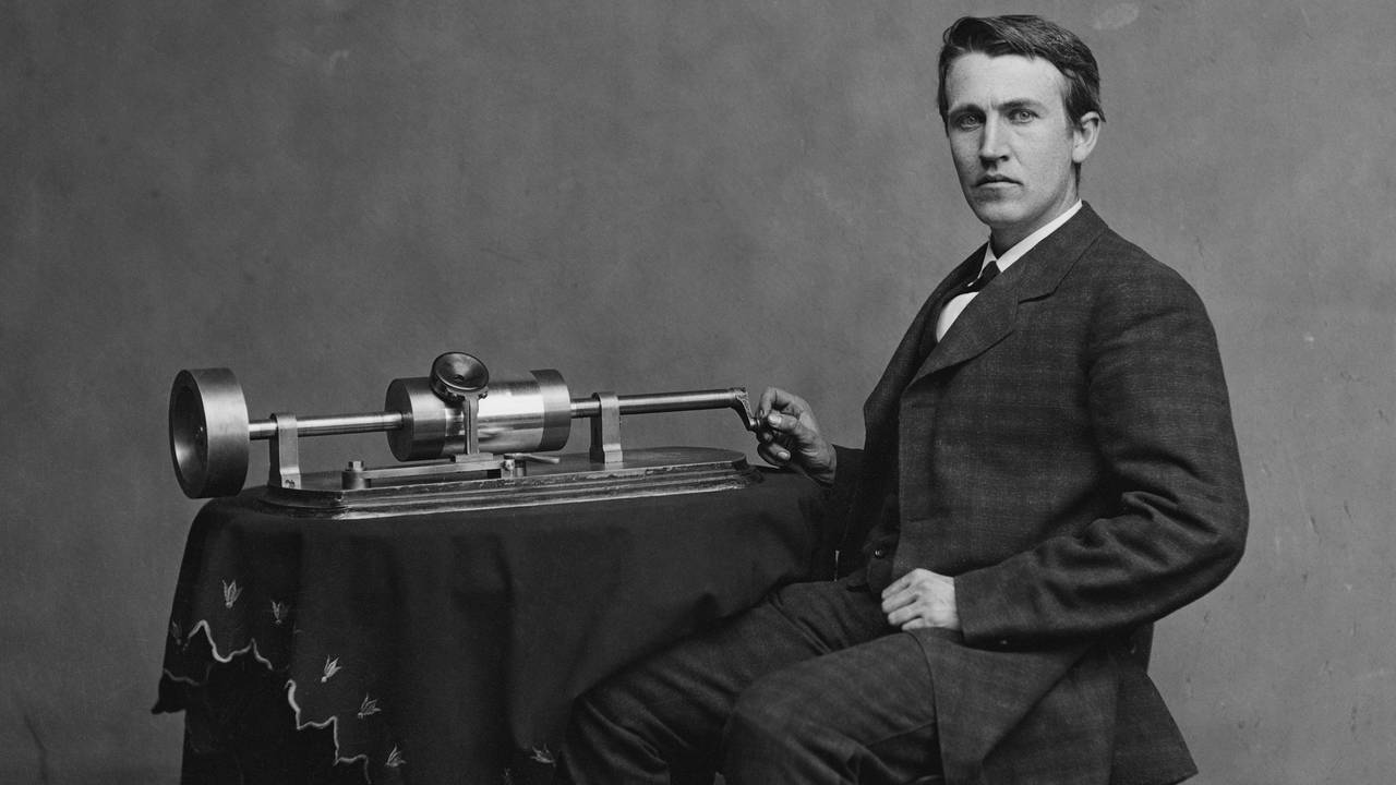 The First Recordings of Music Ever Made for thomas edison first phonograph  183qdu