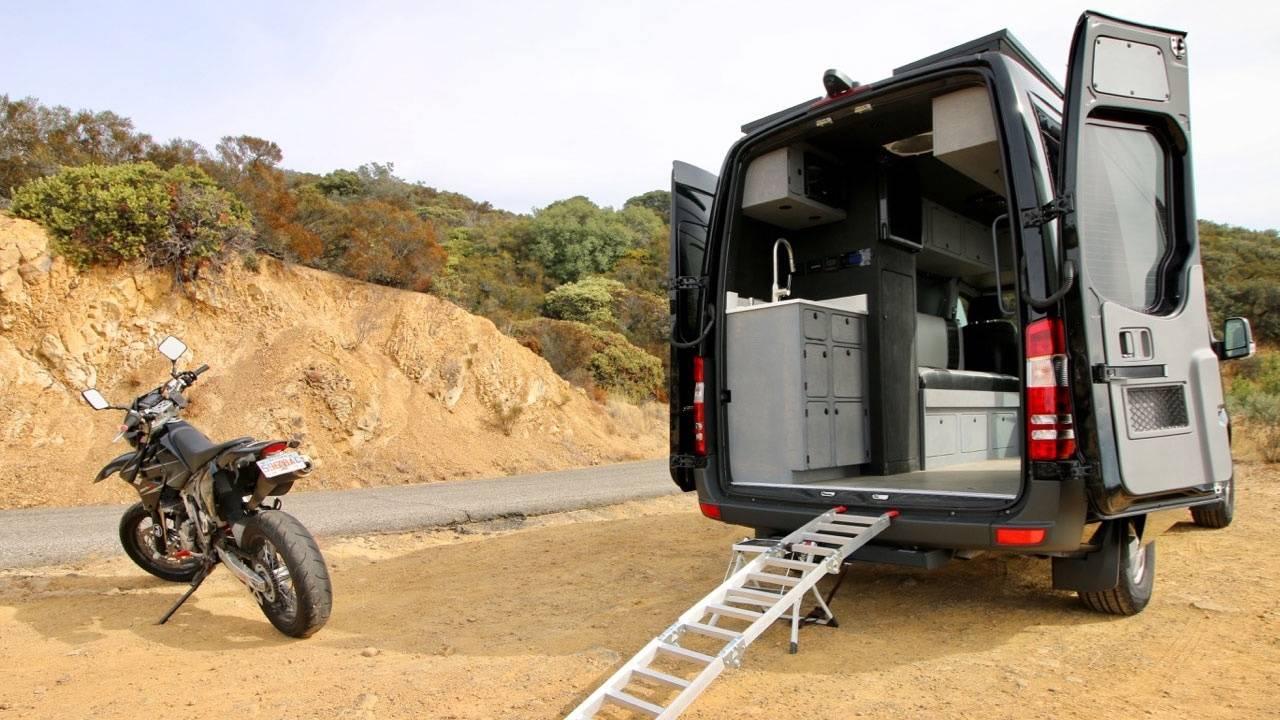 Mercedes Sprinter Van Converted Into Camper With