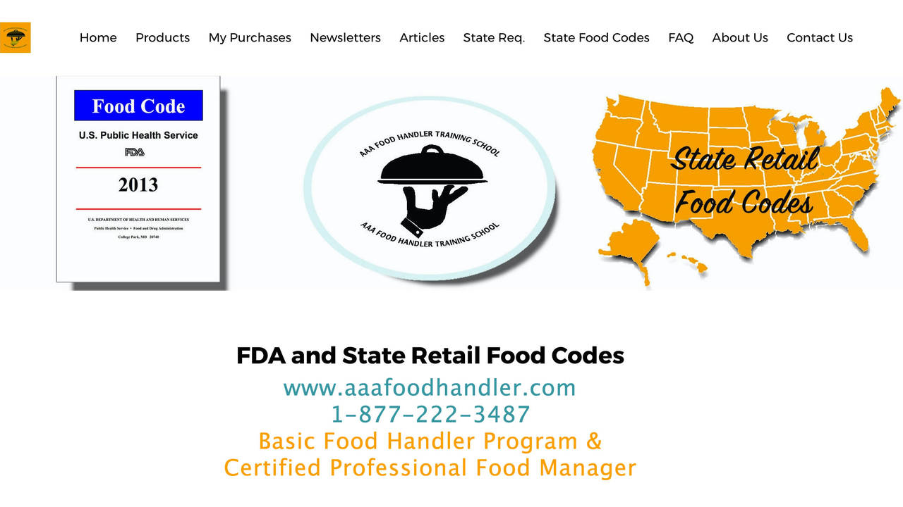 Fda food code book state retail food codes health department req xflitez Gallery