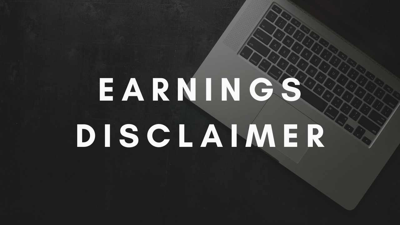 Earnings Disclaimer >> Earnings Disclaimer Of Intromoney Tukel Inc