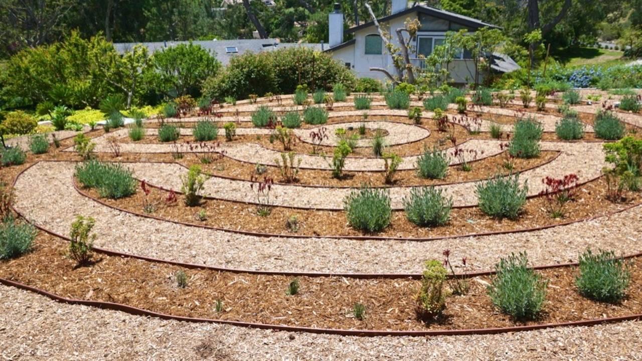Portfolio Del Mar Backyard Labyrinth