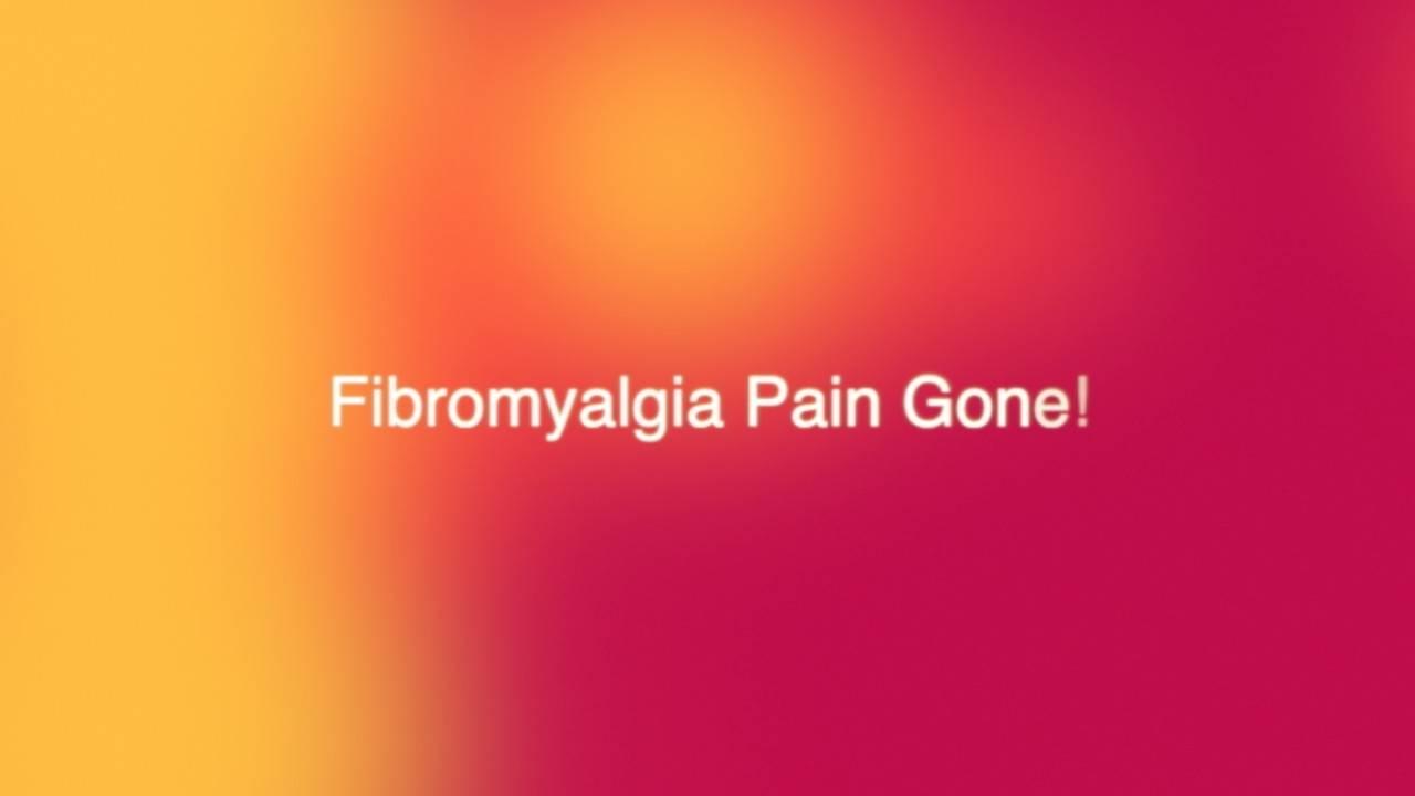 Fibromyalgia Pain Gone With Integral Sound Healing