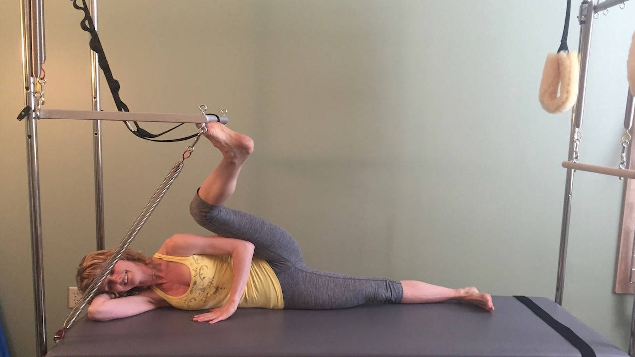 External Hip Rotation Exercises On Pilates Encyclopedia
