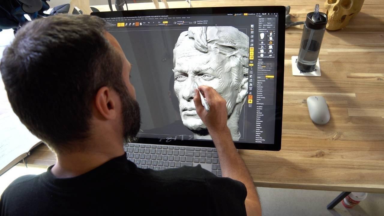 The Digital Sculpting Method with Ryan Kingslien