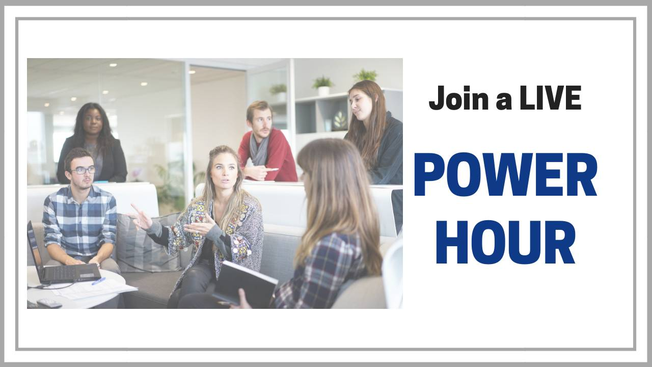 1Pm Pst To Cst join a live power hour