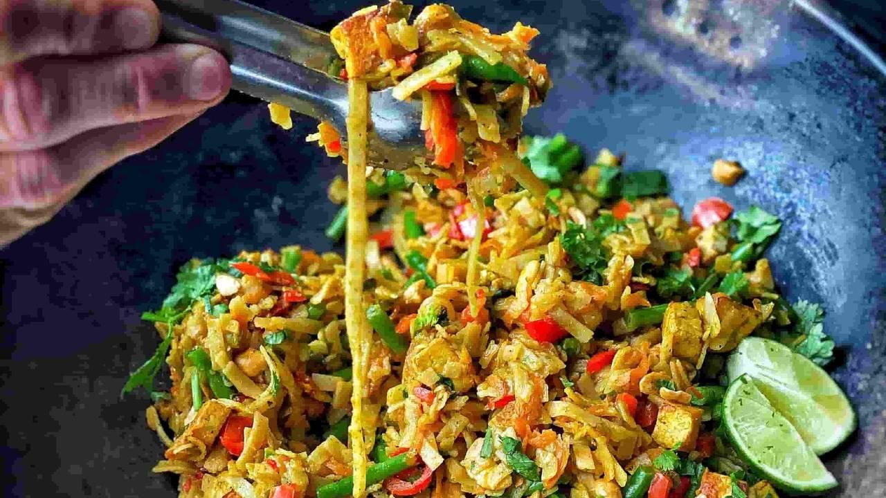 15 minute Singapore noodles
