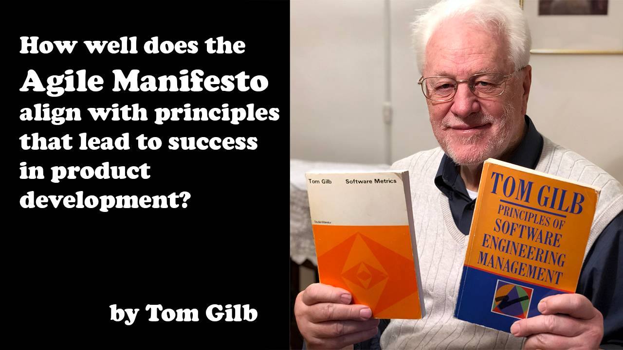 How well does the Agile Manifesto align with principles