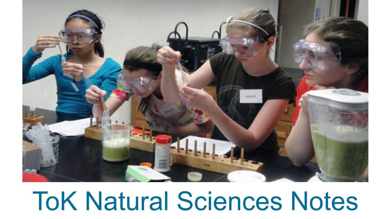 tok natural sciences