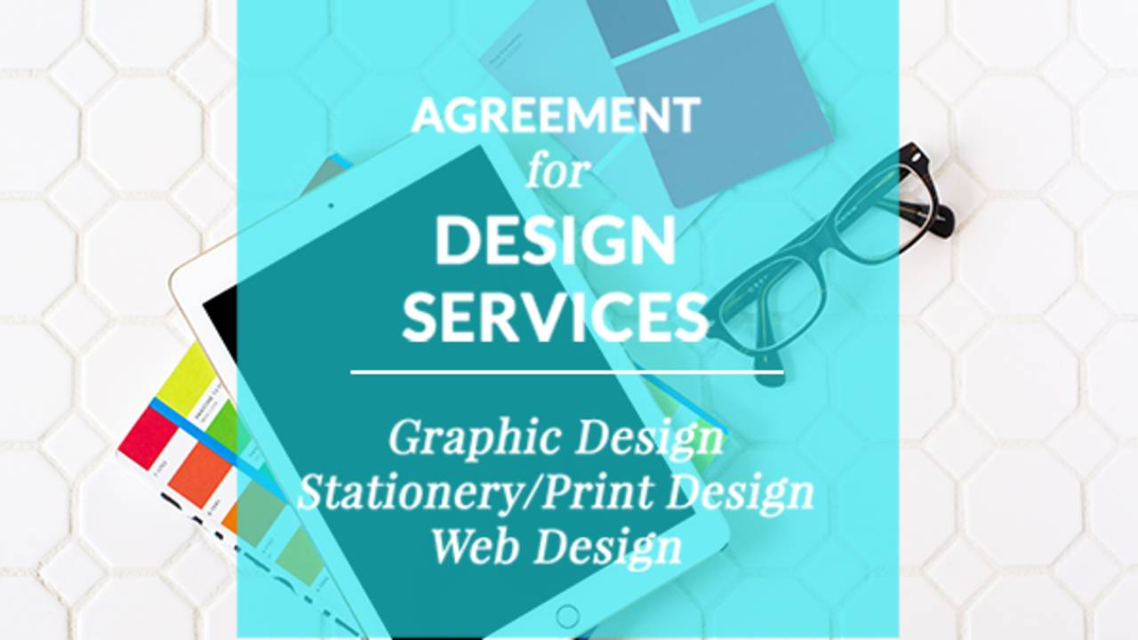 graphic print and web designer contract template