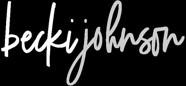 Becki Johnson Logo