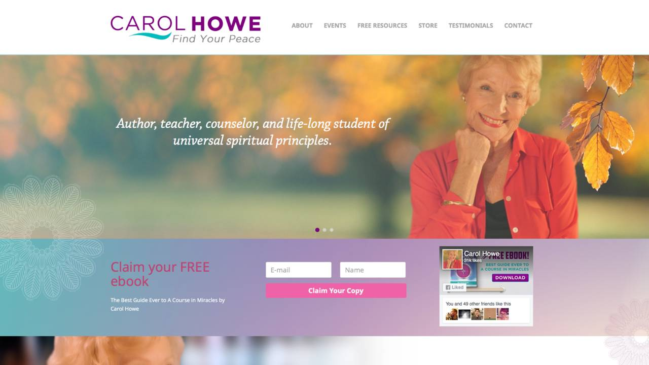 Carol howe a course in miracles online fandeluxe Epub