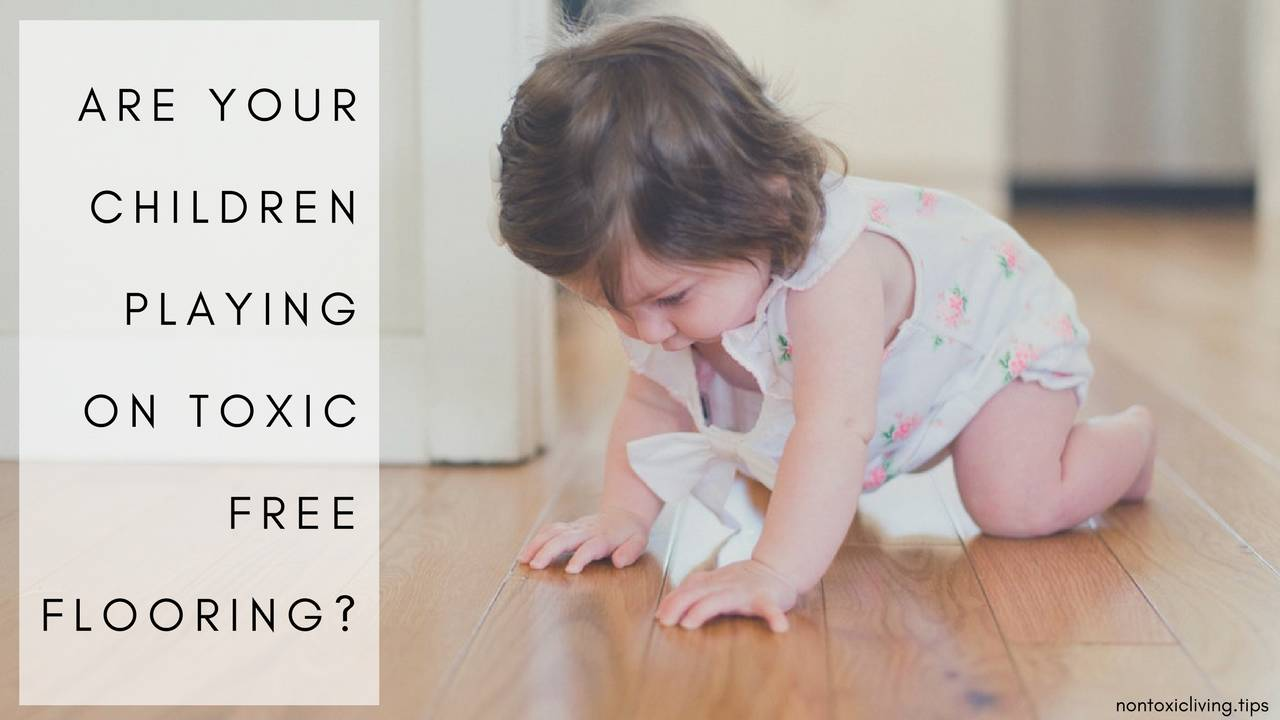 Children Playing On Toxic Free Flooring