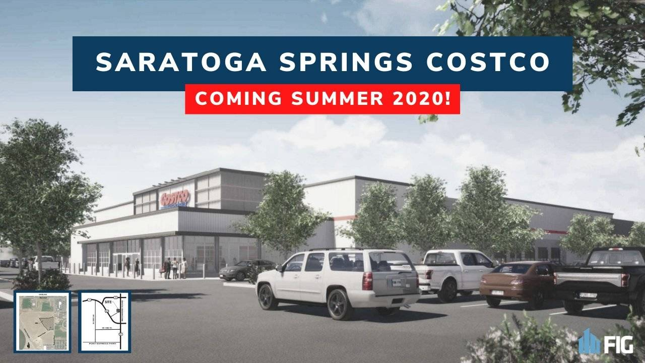 Saratoga Springs Ut Open Christmas 2020 New Costco Coming to Saratoga Springs, UT (Summer 2020)