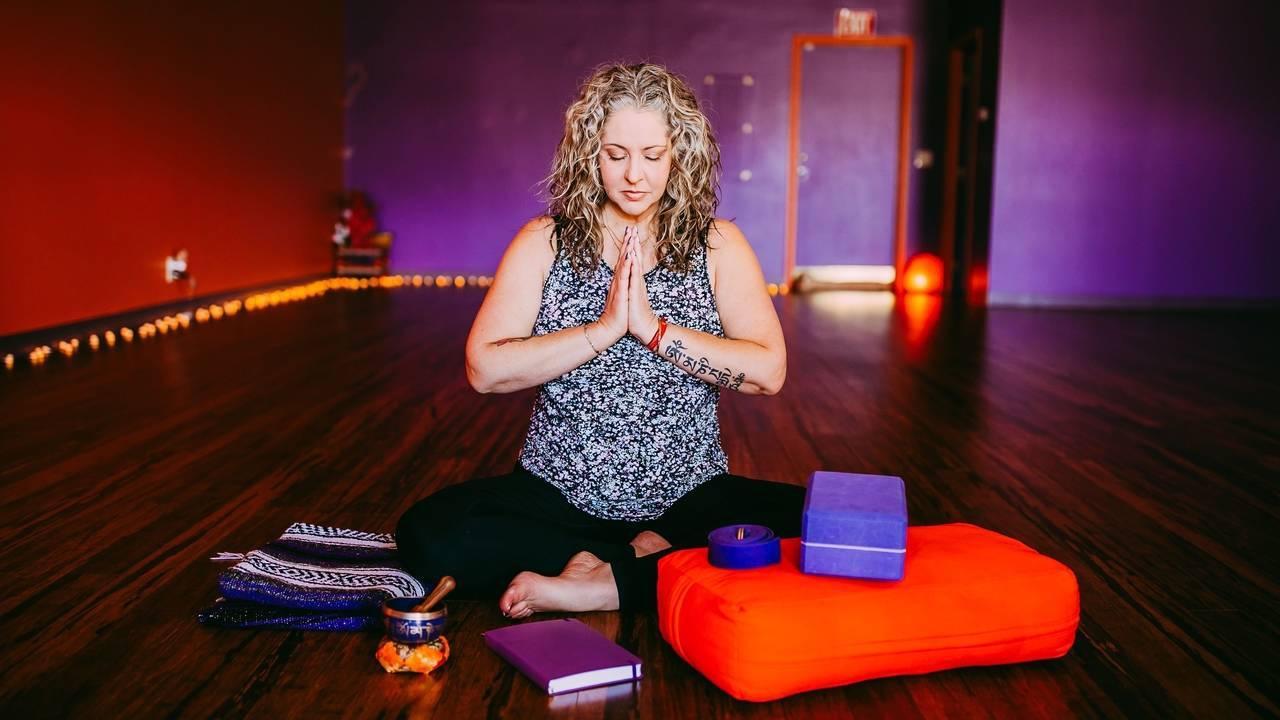 At Home Yoga Studio