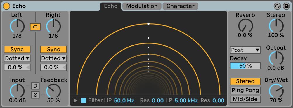 FREE mini course on Ableton Live 10 Echo plus download presets