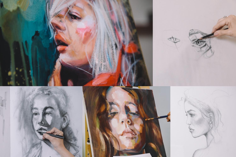 portrait painting courses online