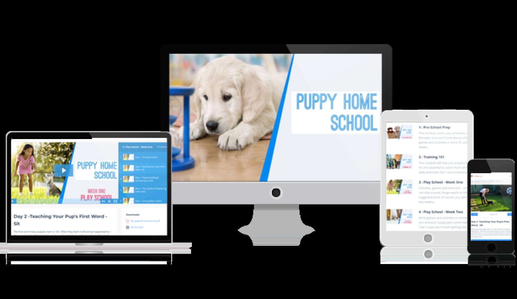 Puppy Home School Online