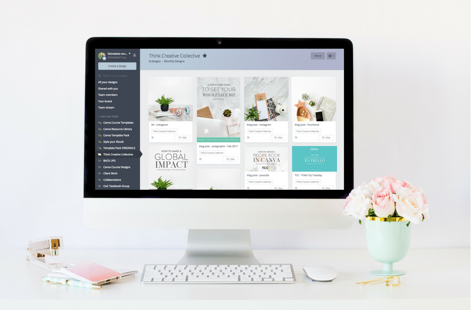 Are You Ready To Use Canva Like A Boss And Partner With Somebody Set Up Your Graphics Custom Templates For