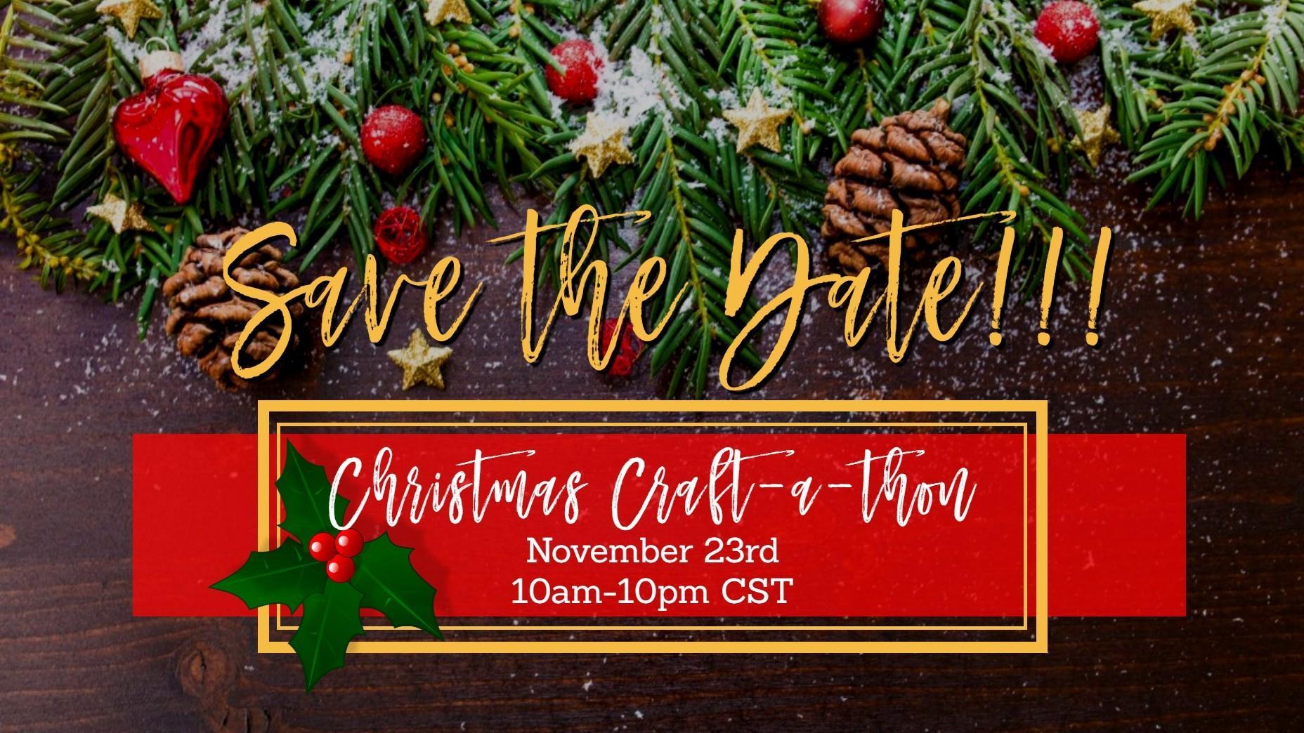 southern crush christmas 2020 craftathon