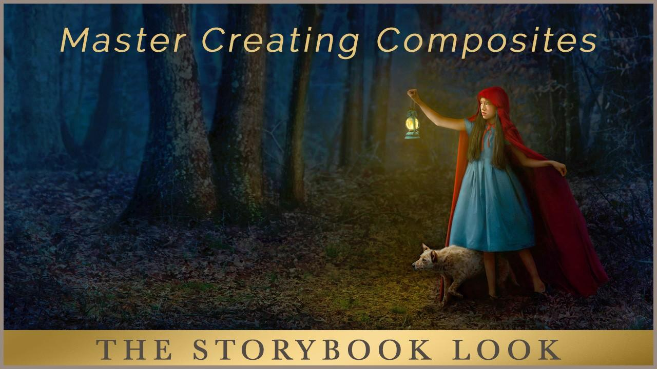 Composite Pictures in Photoshop - The Storybook Look