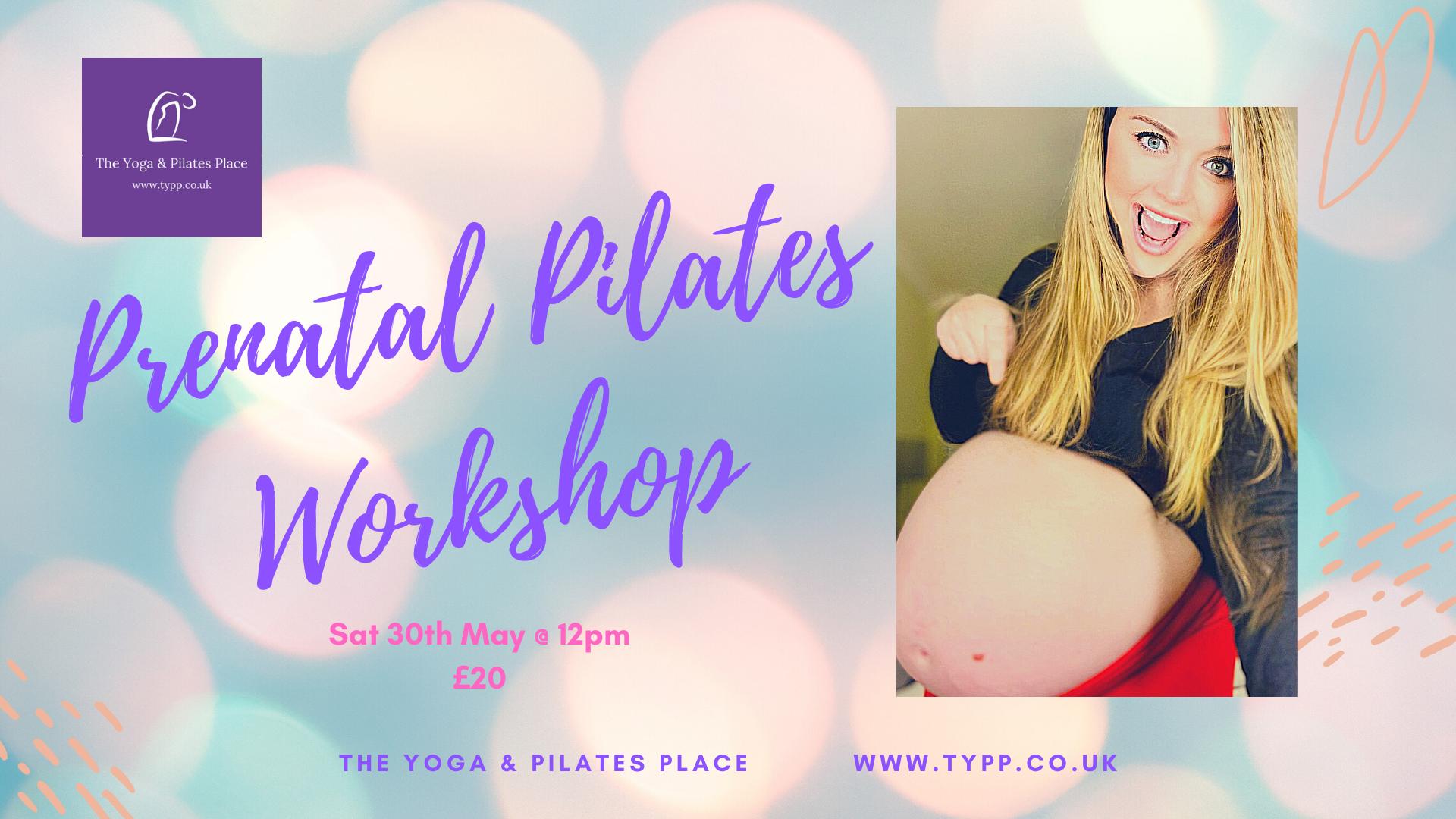 Prenatal Pilates Workshop