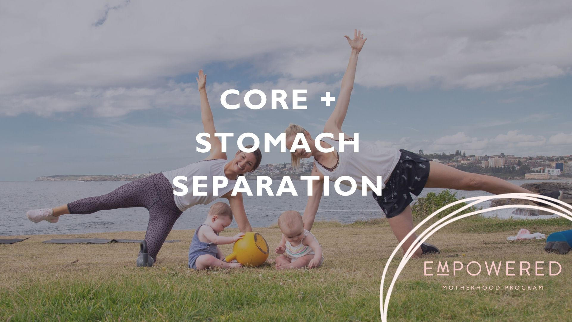 stomach separation, core exercises pregnancy, core exercises after birth, rectus diastasis