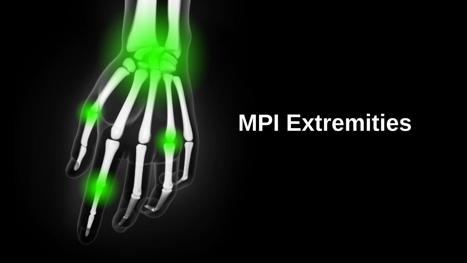 MPI Extremities