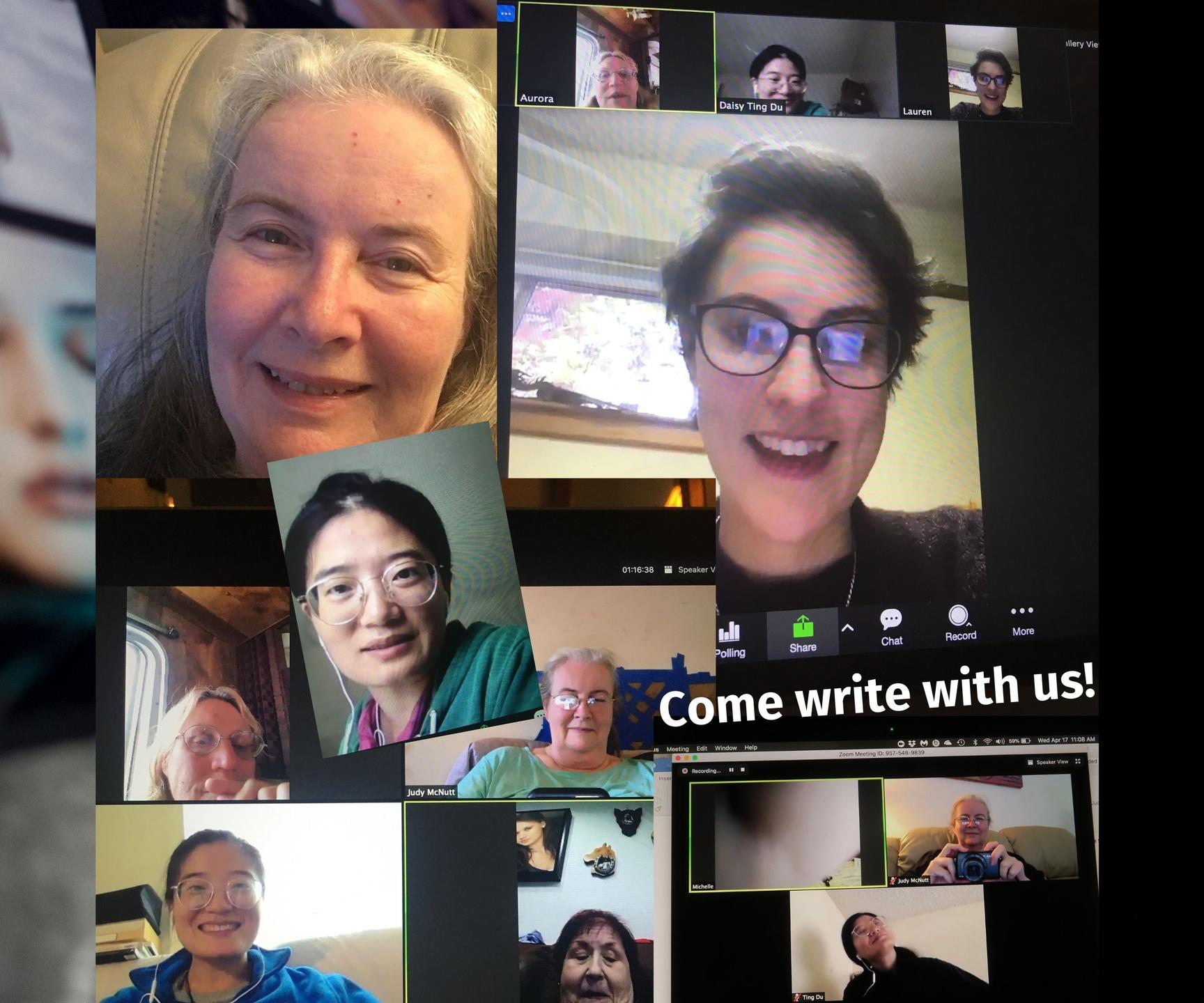 Come write with us.