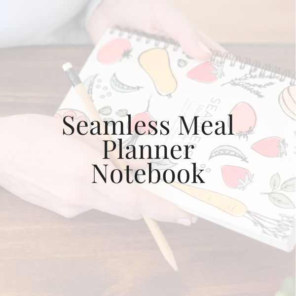 Seamless Meal Planner Notebook