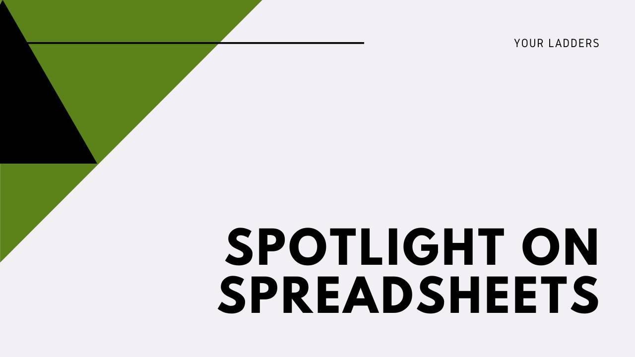 Spotlight on Spreadsheets class