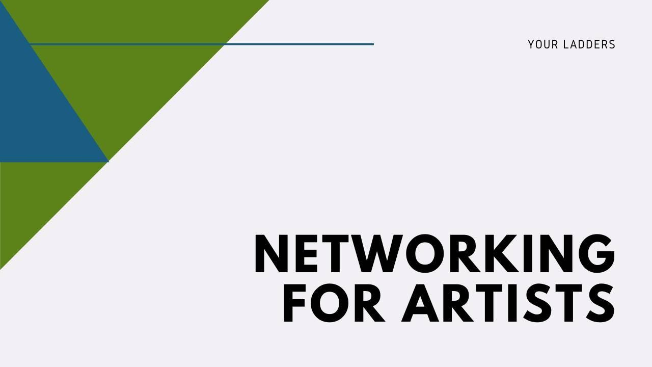 networking for artists