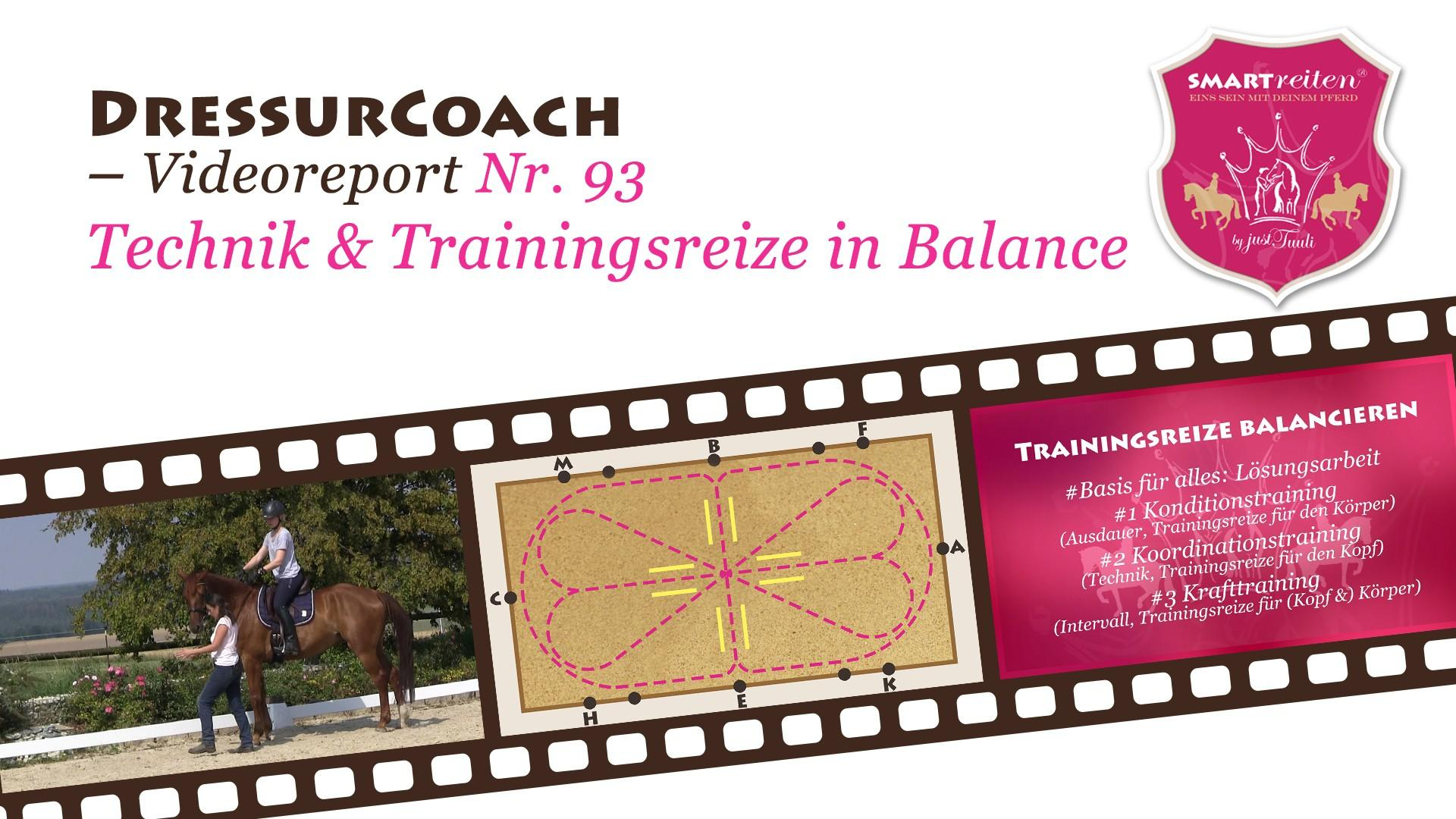 Technik & Trainingsreize in Balance