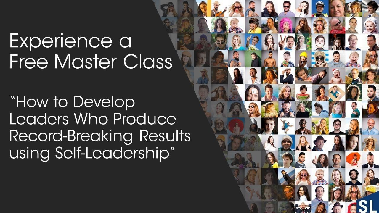 What is Self-leadership MasterClass with Andrew Bryant