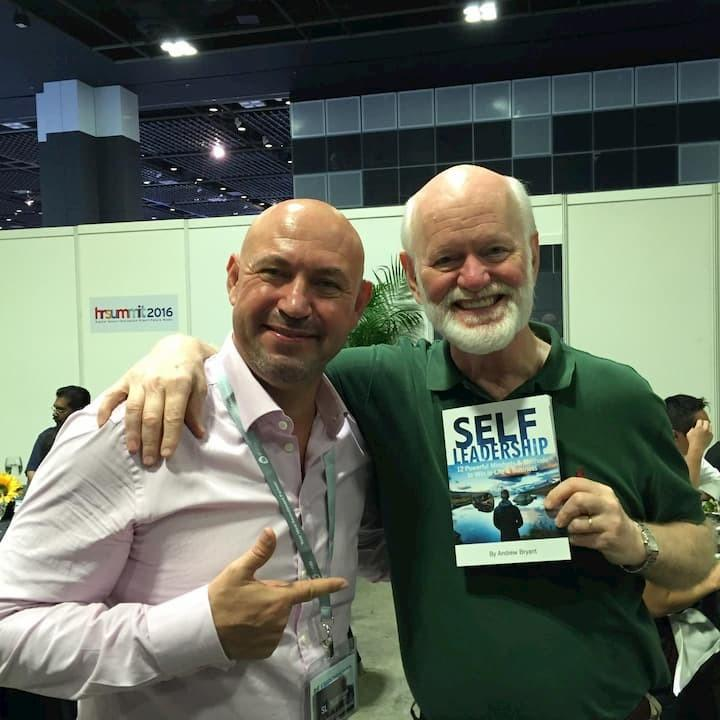 Leadership Executive Coach Andrew Bryant with Marshall Goldsmith