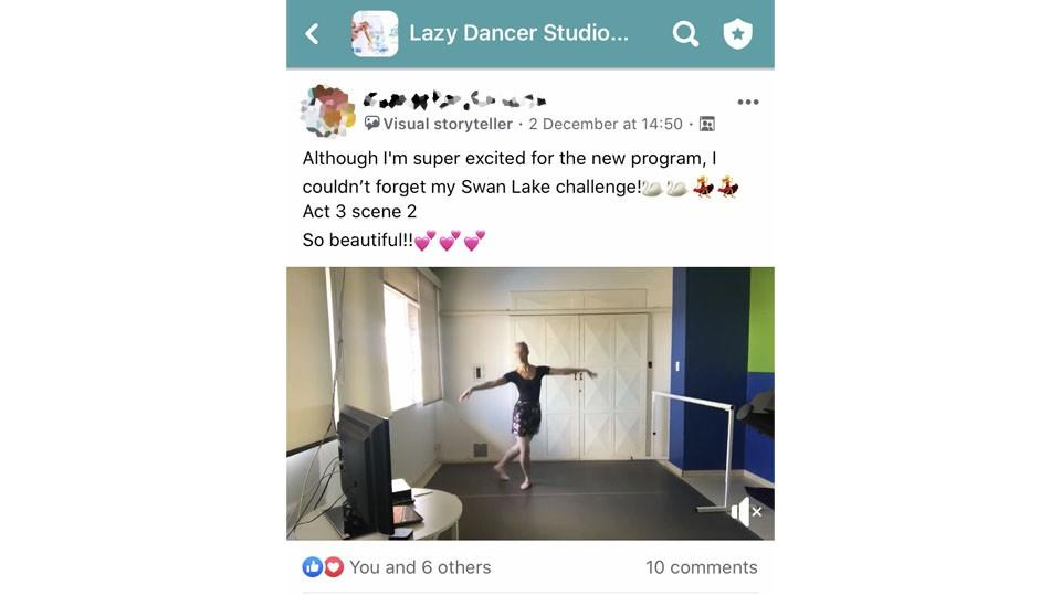 Lazy Dancer Studio Testimonial