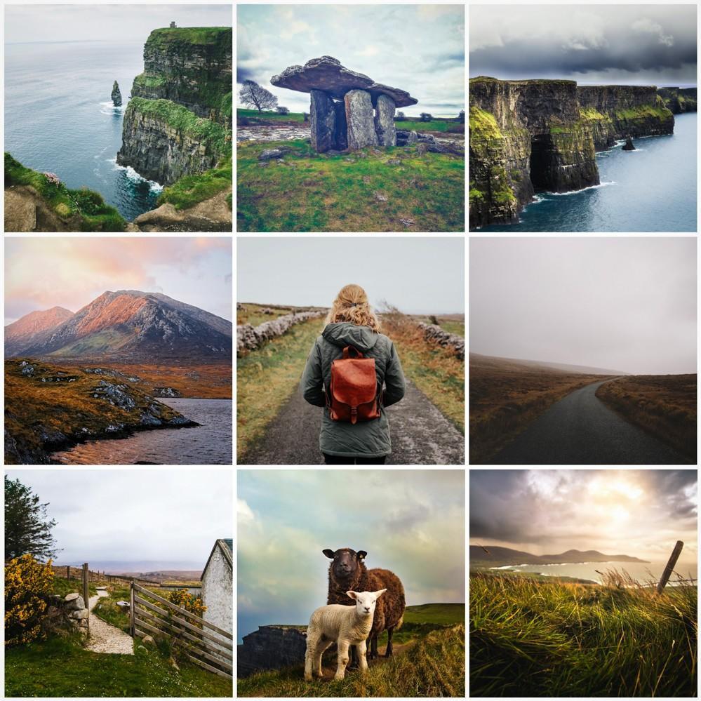 Ireland Preset Examples