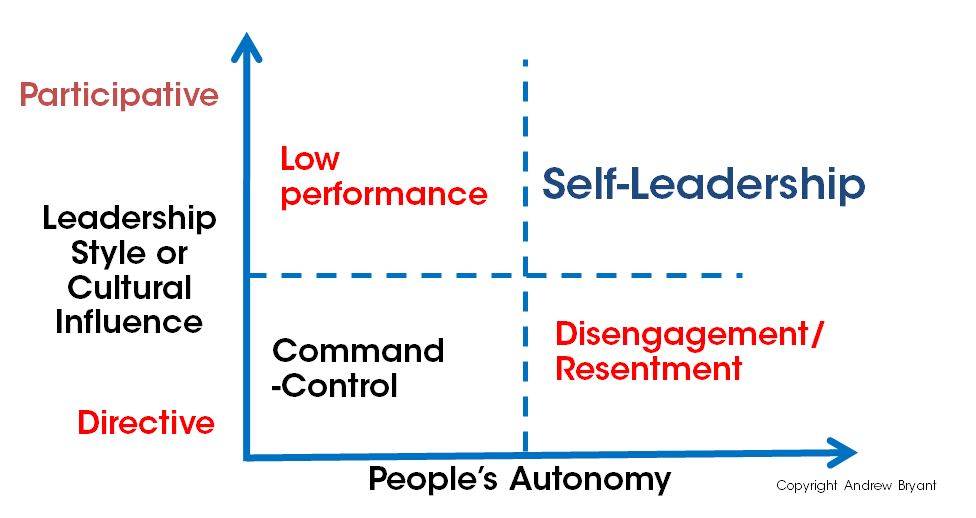 Self-leadership model by Andrew Bryant