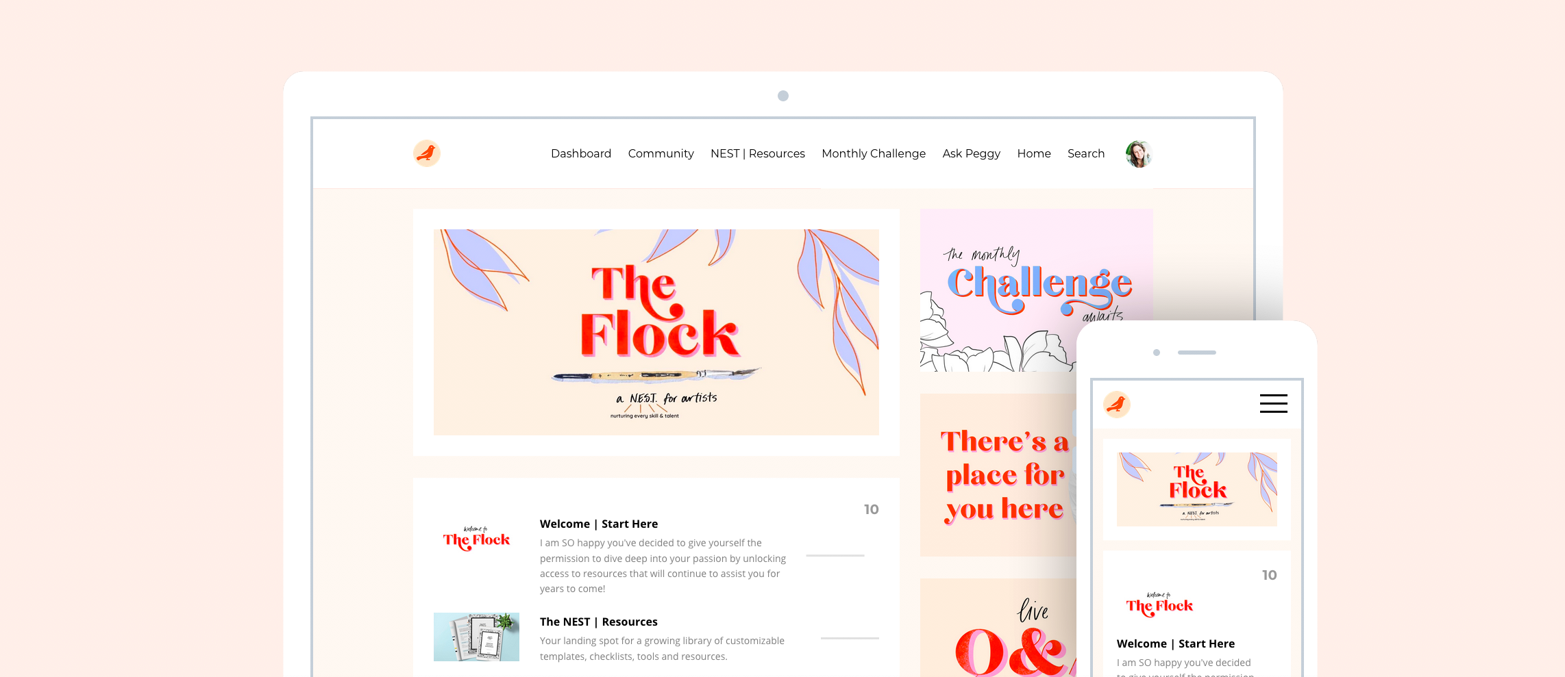 The Flock The Pigeon Letters