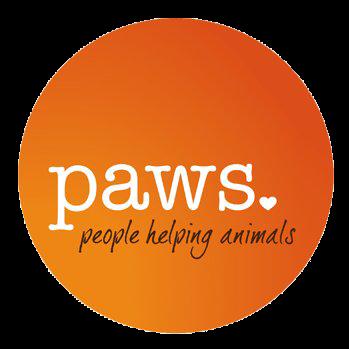 paws people helping animals logo