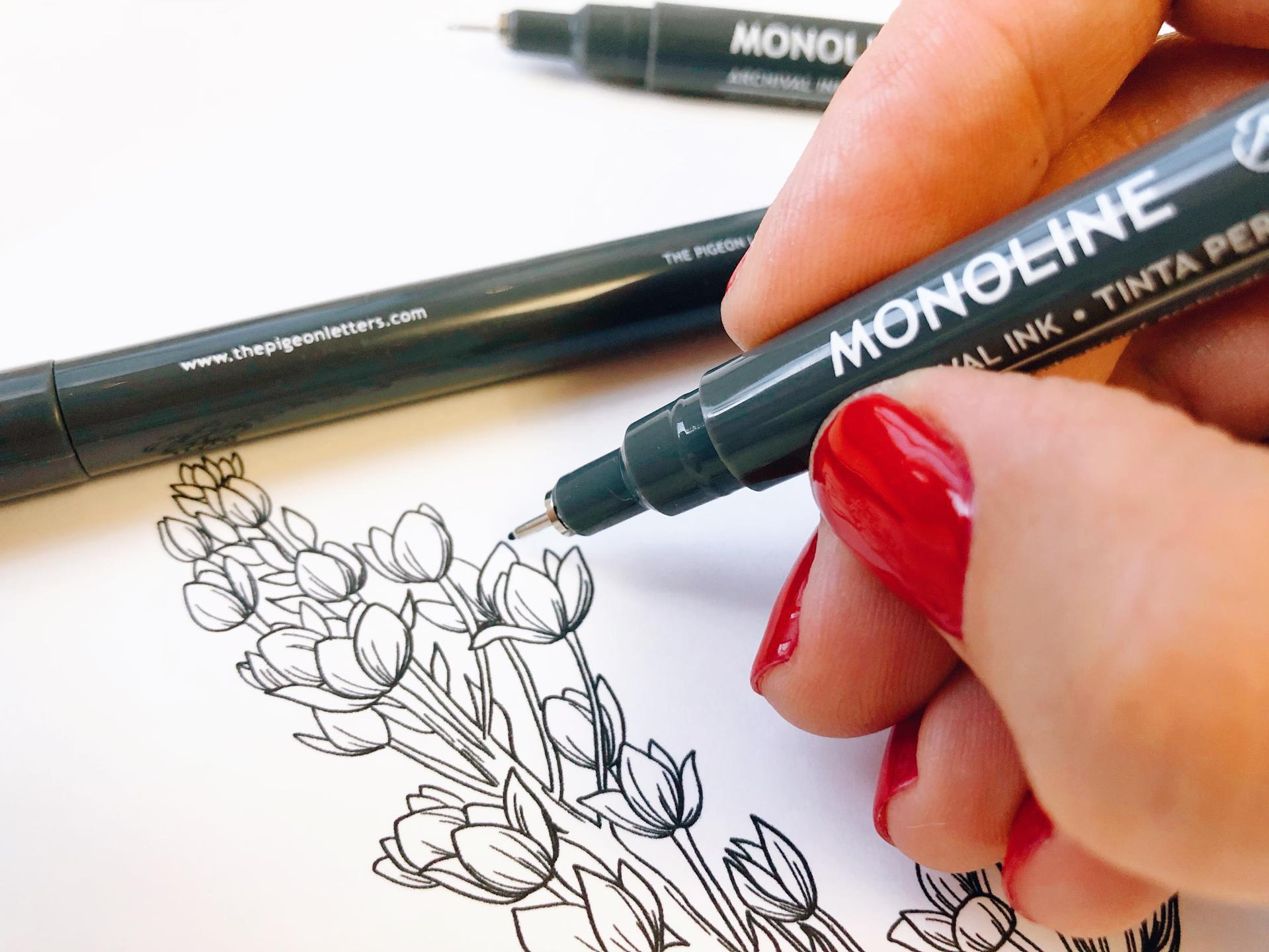 Monoline Pens