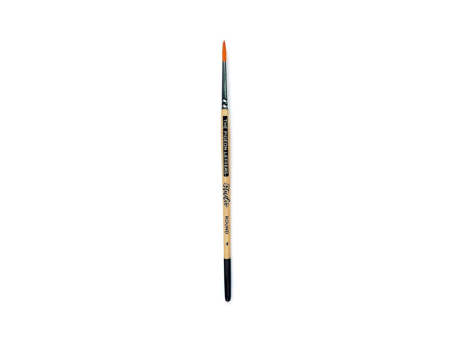 Cruelty-free paint brushes