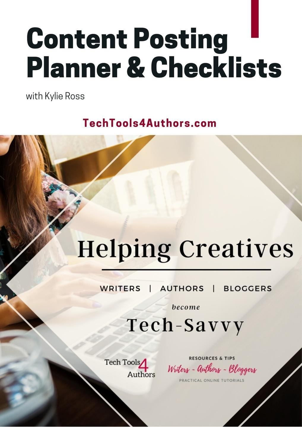 Content Posting Planner and Checklists