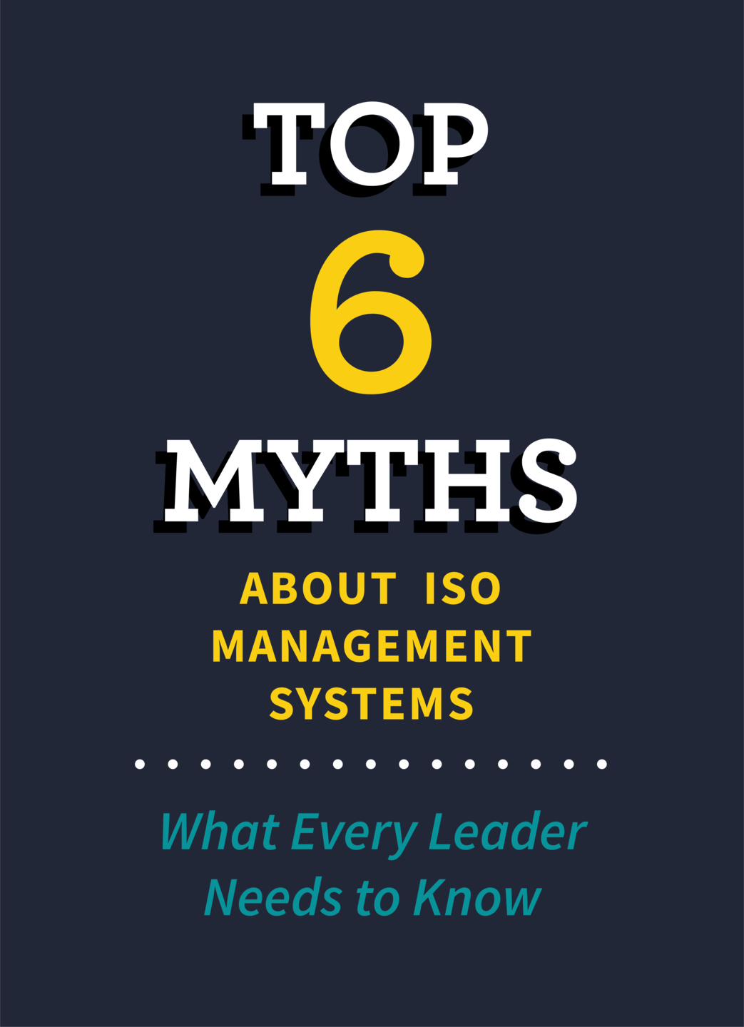 Top 6 Myths cover page