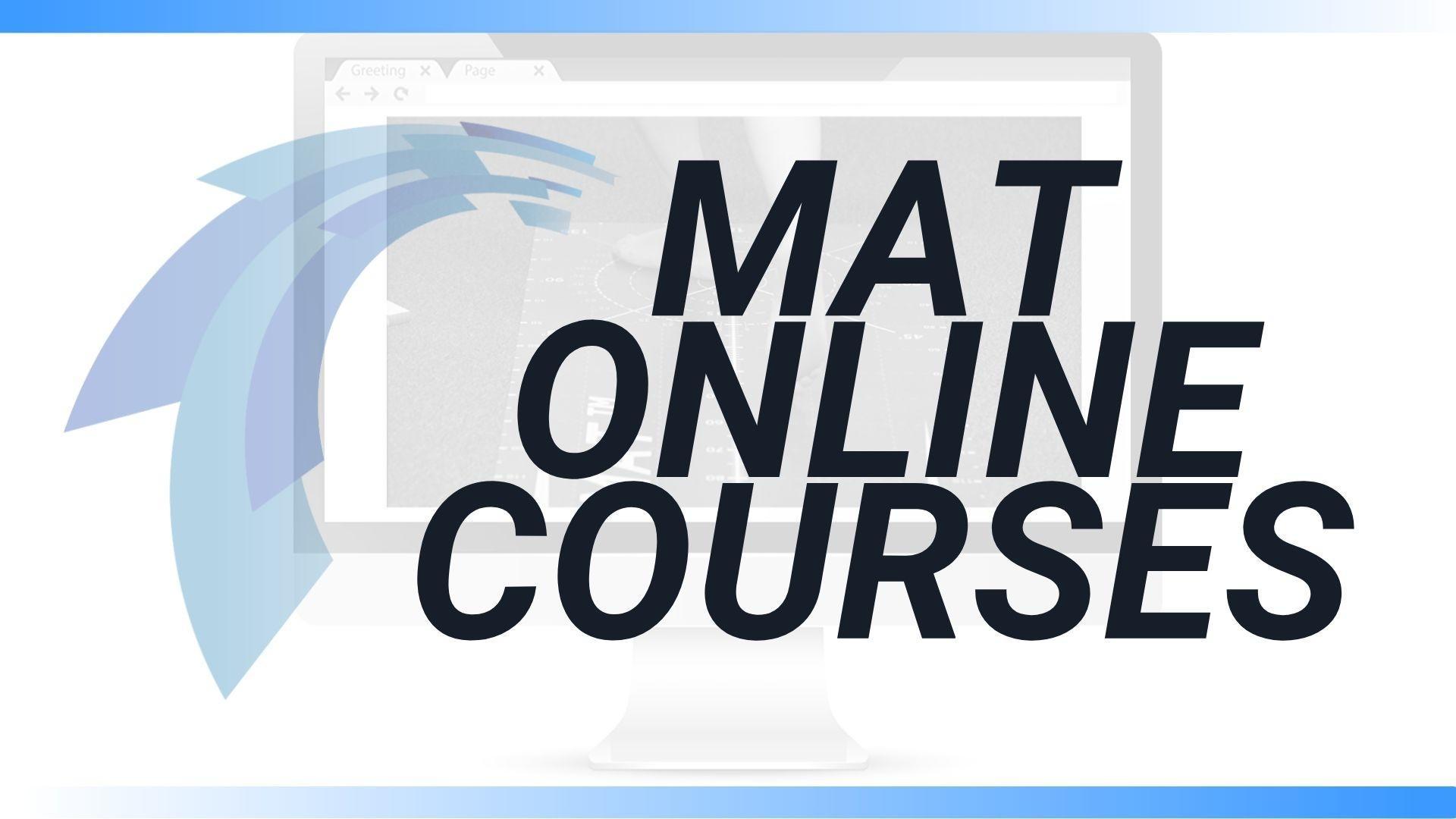 MAT ONLINE courses